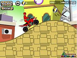 Power Rangers Dino Red ATV game