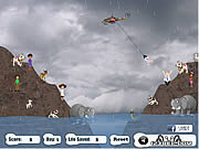 Play Irene hurricane mission rescue Game
