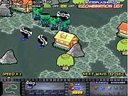 Creepy Ranger Tower Defense game