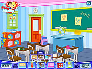 Play Decor my first classroom Game