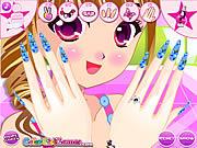 Play Alice nail salon fun Game