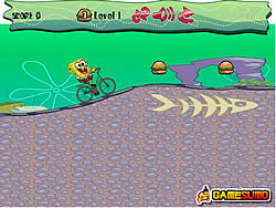 Spongebob Bike Ride game