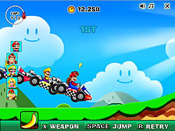 New Super Mario Racing لعبة