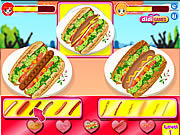 Hot Dog Contest game