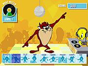 Taz's Dance Fever game