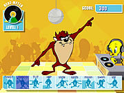 Taz's Dance Fever game