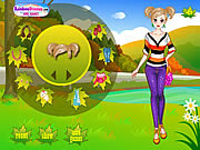 Play Sweet autumn girl Game