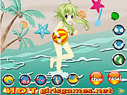 Adorable Swimming Girl game