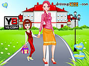 Go To School With Mother game