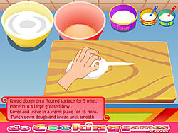 Delicious Pizza Cooking game