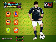 Play Lionel messi dress up Game