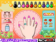 Play Fantastic nail art Game