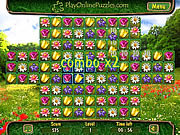 Play Flower puzzle Game