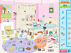 Blue House Hidden Objects game