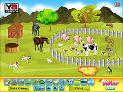 Smiley Deco Farm Field game