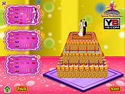 Play Wedding cake decoration game Game