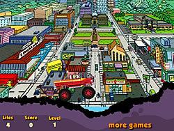 Homer Monster Car game