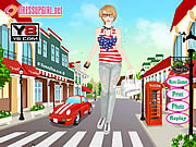 Play Street style dress up Game