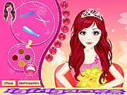 Play Bride hair design Game