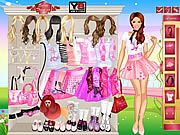 Poodle Style Dress Up game