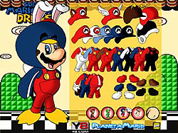 Mario Bros Dress Up game