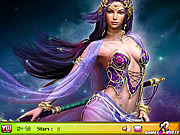 Play Hidden stars-warrior girl Game
