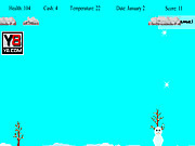 juego Snowman Survive