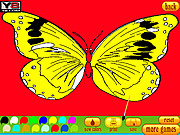 Play Coloring 5 butterfly Game