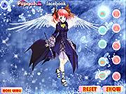 Play Music angel dress up Game