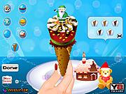 Yummy Cone Ice Cream game