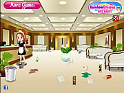 Play Hotel cleanup Game