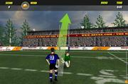Rugby drop kick champ game