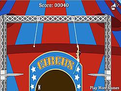 Circus of Idiots - Trapeze game
