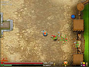 Play Knight orc assault Game