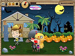 Kiss or Treat game