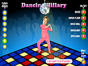 Play Dancing hillary Game
