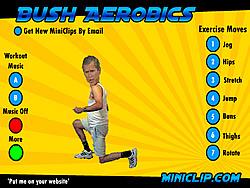 Bush Aerobics game