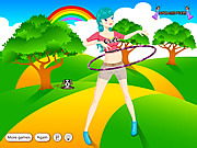Play Hula hoop girl Game