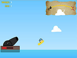 Pirate Launch game