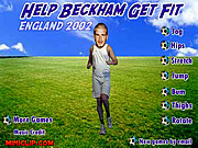 Help Beckham Get Fit game