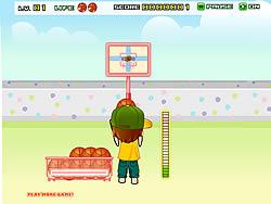 Backyard Basketball game