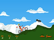 Juega al juego gratis Naruto Bicycle Game
