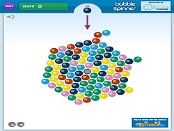 Bubble Spinner game