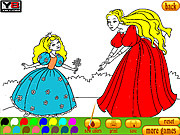 Coloring 8 Princesses game