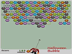 Halloween Bubble game