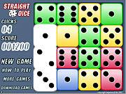 Straight Dice game