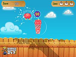 Chicken Smash game