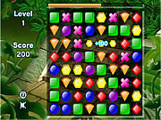 Play Jungle gems Game