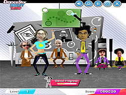 DanceStar Party Time game