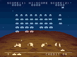 Space Invaders(1996) game